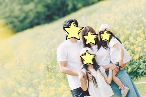 lovegraphで家族写真の体験